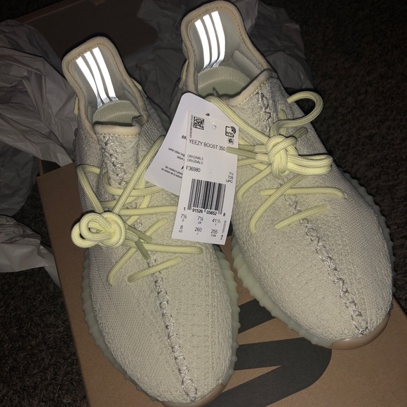 separation shoes 34383 d3ab0 yeezy boost 350 v2 butter sz 8
